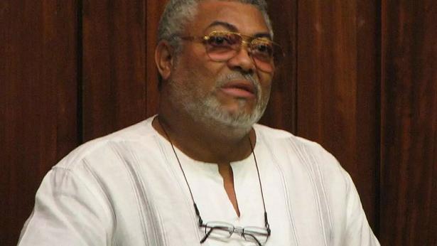 L'ancien président ghanéen, Jerry Rawlings © Pruneau/Wikimedia Commons